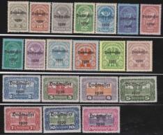 Osterreich      .   Yvert   .      232/251       .    **      .    Postfrisch    .   /  .     MNH - 1918-1945 1. Republik