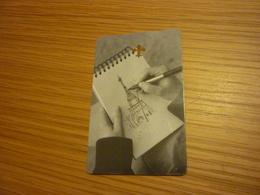 Macao Macau Cotai Strip The Parisian Hotel Room Key Card (Eiffel Tower Tour Eiffel) - Hotel Keycards