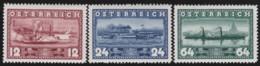 Osterreich      .   Yvert   .      496/498       .    **      .    Postfrisch    .   /  .     MNH - 1918-1945 1. Republik