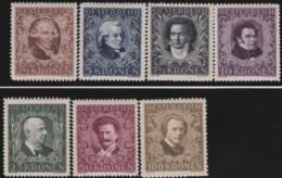Osterreich      .   Yvert   .      290/296       .    **      .    Postfrisch    .   /  .     MNH - 1918-1945 1. Republik