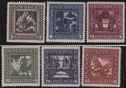 Osterreich     .   Yvert   .     368/373     .    *    .  Ungebraucht Mit Falz    .   /  .     Mint-hinged - 1918-1945 1. Republik