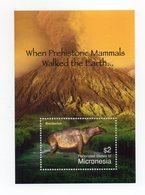 Micronesia - Foglietto Tematica Animali Preistorici - 1 Valore - Nuovo - Vedi Foto - (FDC13783) - Francobolli