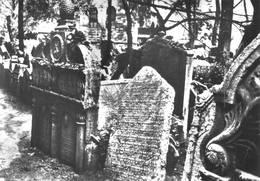 Prague Prag Cimetière Juif - Tchéquie
