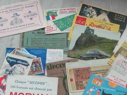 Lot De + De 50 Buvards De Collection  + 10 Protège Cahier De Collection - Collections, Lots & Series