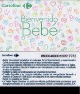 TARJETA REGALO DE ESPAÑA, GIFT CARD. CARREFOUR, BIENVENIDO BEBÉ. 073. - Tarjetas De Regalo