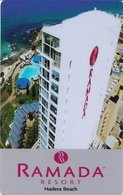 ISRAELE  KEY HOTEL  Ramada Resort Hadera Beach - Hotel Keycards