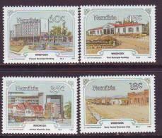 D101225 Namibia 1990 South West Africa WINDHOEK Buildings MNH Set - Afrique Du Sud Afrika RSA Sudafrika - Namibie (1990- ...)