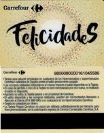 TARJETA REGALO DE ESPAÑA, GIFT CARD. CARREFOUR, FELICIDADES. 074. - Cartes Cadeaux