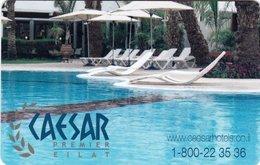 ISRAELE  KEY HOTEL  Caesar Premier Eilat - Cartes D'hotel