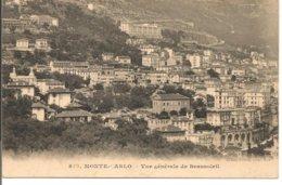 L20J_714 - Monte-Carlo - 872 Vue Générale De Beausoleil - Monte-Carlo