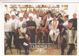 BRASSERIE PETANQUE. RESTAURANT AUTENTIQUE SPECIALITE FRANCAISE, BUENOS AIRES. VIA POSTAL 2018 SANS CIRCULEE-RARE - BLEUP - Hotels & Restaurants