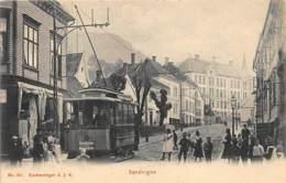 Norway - OSLO - Sandvigen - Streetcar Tramway 10 - Publ. A.J.K. 931. - Norvège