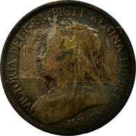 Monnaie, Grande-Bretagne, Victoria, 1/2 Penny, 1900, B, Bronze, KM:789 - 1816-1901 : Frappes XIX° S.