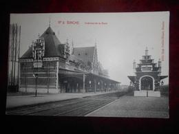 Binche    Intérieur De La Gare - Binche