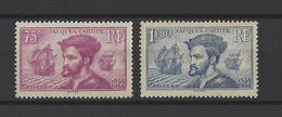 FRANCE  YT  N° 296/297  Neuf **  1934 - France