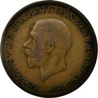 Monnaie, Grande-Bretagne, George V, 1/2 Penny, 1934, TB, Bronze, KM:837 - 1902-1971 : Monnaies Post-Victoriennes