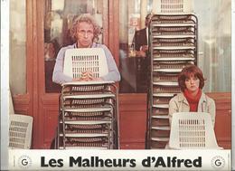Affiche , 30 X 24.5 , Cinéma, LES MALHEURS D'ALFRED, Pierre Richard , Frais Fr 2.45 E - Affiches