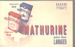 Buvard MATHURINE Pour Tous LAVAGES - Produits Ménagers