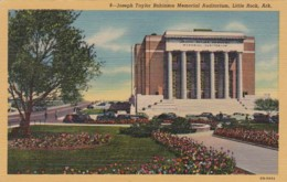 Arkansas Little Rock Joseph Taylor Robinson Memorial Auditorium Curteich - Little Rock