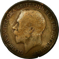 Monnaie, Grande-Bretagne, George V, 1/2 Penny, 1911, B+, Bronze, KM:809 - 1902-1971 : Monnaies Post-Victoriennes