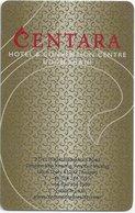 TAILANDIA KEY HOTEL  -  Centara Hotel & Convention Centre Udon Thani - Hotel Keycards