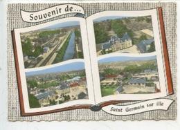 Souvenir De Saint Germain Sur Ille :multivues N°115 Lapie - Saint-Germain-sur-Ille