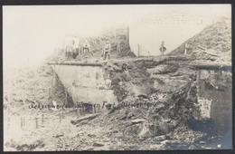 """Carte Photo - """"Scheinwerfer"""" , Waelhem Fort (Oktober 1914) Une Partie Du Fort, à Voir !  (Anvers) - Sonstige"""