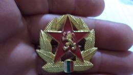 Badge The Bulgarian Army - Army