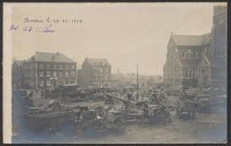 """Carte Photo - Bertrix Le 29/12/1918 """"Nos 155 Filloux"""" / Canons + Texte Au Verso. Guerre 14-18. Superbe - Sonstige"""