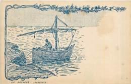 13* PROVENCE  Pecheur (illustration)             MA84,1009 - France