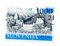SLOVENIA 2003 Castle Kamen 1000 Tolarjev Michel 420  Used Stamp - Slovénie