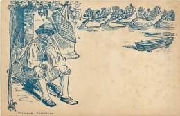 13* PROVENCE Pecheur ( Illustration)              MA84,1013 - France