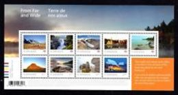 Canada 2019, From And Wide Souvenir Sheet  9 Stamps  MNH  See Description  Below - Blocs-feuillets