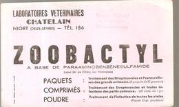 Buvard ZOOBACTYL Laboratoires Vétérinaires CHATELAIN à Niort (Deux-Sèvres) - Animaux