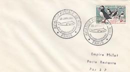 LETTRE COVER. FRANCE. 1961. AVIATION POSTALE DE NUIT - Stamps