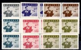 Bloque De Cuatro De Bolivia N ºYvert 390/95 ** - Bolivia