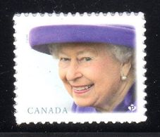 CANADA  2019  Queen Elizabeth 11,  New Stamp From Booklet - Carnets