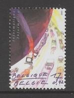 TIMBRE NEUF DE BELGIQUE - COMPOSITION AVEC ORDINATEURS (INFORMATIQUE) N° Y&T 3033 - Computers