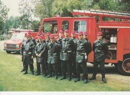 76 - MALAUNAY - Les Sapeurs Pompiers De Malaunay En Manoeuvre Au Parc Pellerin - France