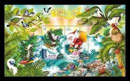 Christmas Island 2018 Mih. 896/97 (Bl.54) Christmas. Fauna. Birds. Fishes MNH ** - Christmas Island