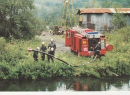 76 - MALAUNAY - Les Sapeurs Pompiers Du Centre De Malaunay Mis En Aspiration Dans Le Cailly - France