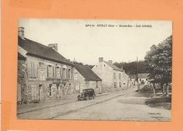 CPA  - Antilly  -(Oise) - Grande Rue  - Café Conseil  - (auto , Voiture Ancienne , Peugeot 201 ) - Frankreich