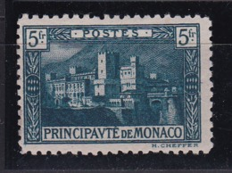 Monaco N°63** Avec Variété Couleur Vert-bleu - Monaco