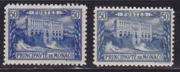 Monaco N°58*+58a* - Monaco