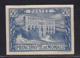 Monaco N°58* Non Dentelé Signé Plusieurs Fois - Monaco