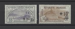 FRANCE  YT  N° 166-167  Neuf **  1922 - France