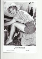 JOAN BLONDELL - Film Star Pin Up PHOTO POSTCARD - 255-280 Swiftsure Postcard - Künstler