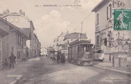 ANNEMASSE  Avenue De La GARE  ( Plan Animé Dont TRAWAY ) - Annemasse