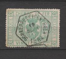 COB 3 Oblitéré SCHAERBEEK (Central) - Usati