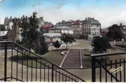 54 - PONT A MOUSSON : Place De La Gare ( Dancing ) CPSM Dentelée PF Colorisée Format CPA - Meurthe Et Moselle - Pont A Mousson